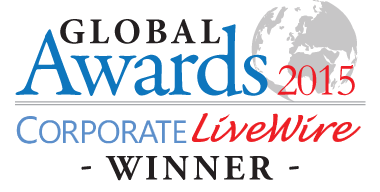 Global Awards Winner Logo 2015 Corporate Livewire