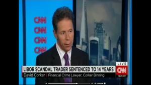 David Corker, Libor Scandal, CNN International, 4th August 2015